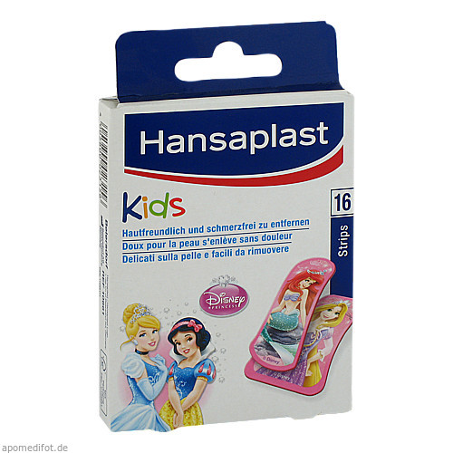 Hansaplast Junior Princess 16 Strips, 16 ST, Beiersdorf AG