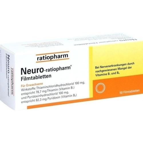 Neuro-ratiopharm Filmtabletten, 50 ST, ratiopharm GmbH