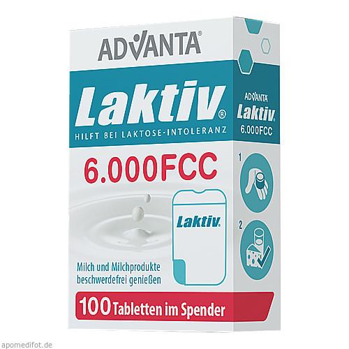 LAKTIV ADVANTA Laktasetabletten 6000 FCC 7g, 100 ST, TSI Consumer Goods GmbH