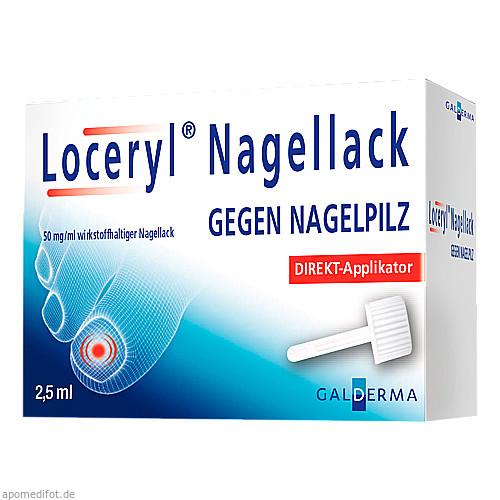 Loceryl Nagellack gegen Nagelpilz DIREKT-Applikat., 2.5 ML, Galderma Laboratorium GmbH