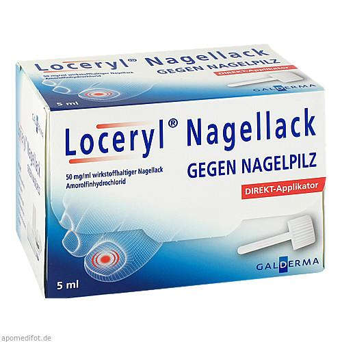 Loceryl Nagellack gegen Nagelpilz DIREKT-Applikat., 5 ML, Galderma Laboratorium GmbH