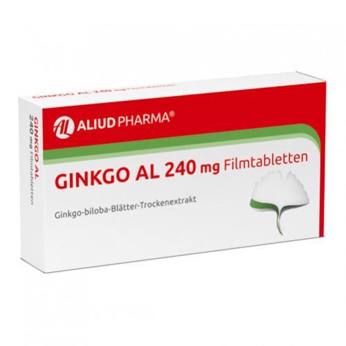 Ginkgo AL 240 mg Filmtabletten, 120 ST, Aliud Pharma GmbH