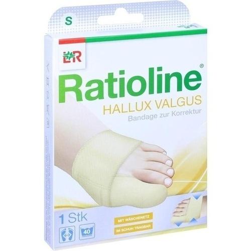 Ratioline Hallux valgus Bandage zur Korrektur S, 1 ST, Lohmann & Rauscher GmbH & Co. KG