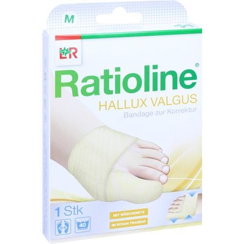 Ratioline Hallux valgus Bandage zur Korrektur M, 1 ST, Lohmann & Rauscher GmbH & Co. KG