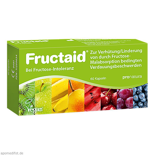 Fructaid, 60 ST, Pro Natura Gesellschaft Für Gesunde Ernährung mbH