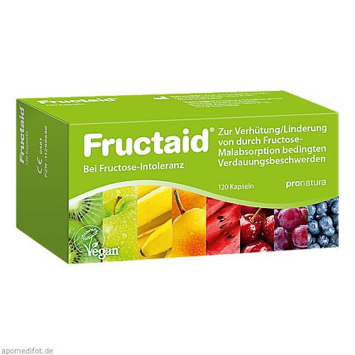 Fructaid, 120 ST, Pro Natura Gesellschaft Für Gesunde Ernährung mbH