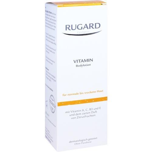 Rugard Vitamin Body Lotion, 200 ML, Dr.B.Scheffler Nachf. GmbH & Co. KG