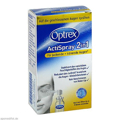 Optrex ActiSpray 2in1 f.juckende u.tränende Augen, 10 ML, Reckitt Benckiser Deutschland GmbH