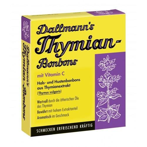 Dallmann's Thymian Bonbons, 20 ST, Dallmann & Co. Fabr.Pharm.Präp. GmbH