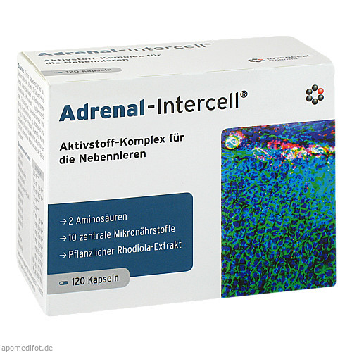 Adrenal-Intercell, 120 ST, Intercell-Pharma GmbH