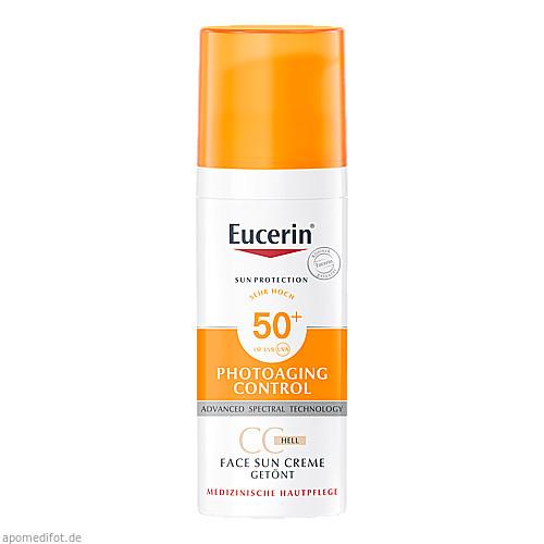 Eucerin Sun CC Creme getönt hell LSF 50+, 50 ML, Beiersdorf AG Eucerin