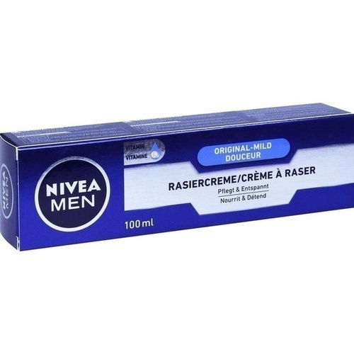 NIVEA MEN RASIERCREME MILDE, 100 ML, Beiersdorf Ag/Gb Deutschland Vertrieb