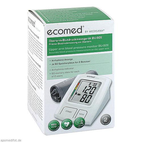 Ecomed BU-92E Oberarm-Blutdruckmessgerät, 1 ST, Promed GmbH