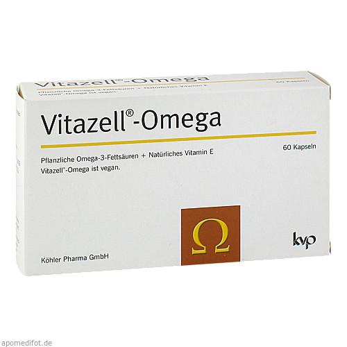 Vitazell-Omega, 60 ST, Köhler Pharma GmbH