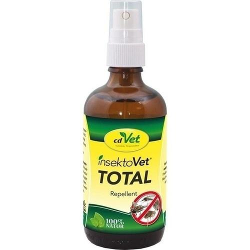 InsektoVet Total Spray vet, 100 ML, cdVet Naturprodukte GmbH