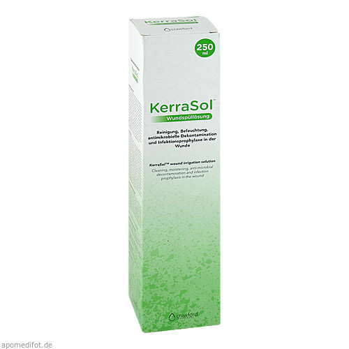KerraSol Wundspüllösung, 250 ML, Crawford Healthcare GmbH