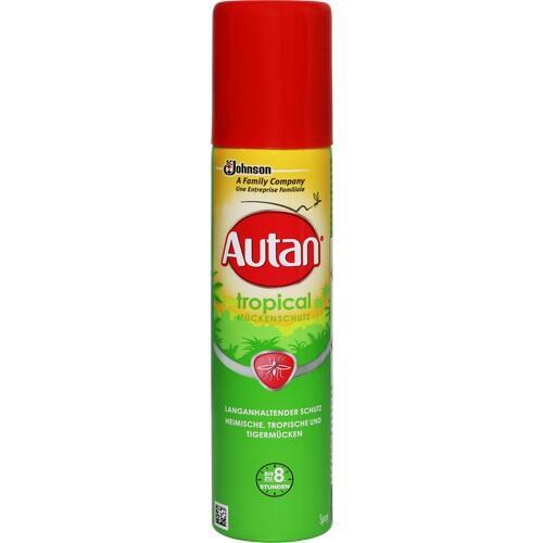 Autan Tropical Aerosol Spray, 100 ML, SK Pharma Logistics GmbH