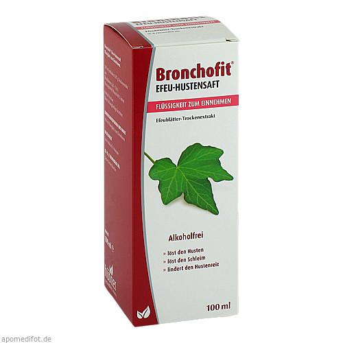 Bronchofit Efeu-Hustensaft 8.7 mg/ml, 100 ML, Axicorp Pharma GmbH