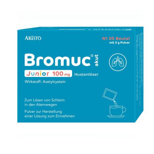 Bromuc akut Junior 100mg Hustenlöser, 20 ST, Aristo Pharma GmbH