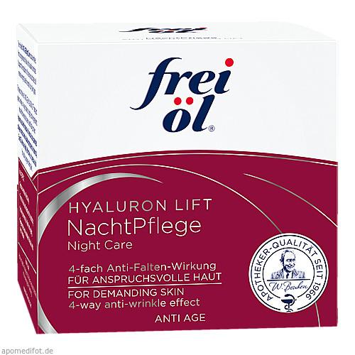 frei öl Anti Age Hyaluron Lift Nachtpflege, 50 ML, Apotheker Walter Bouhon GmbH