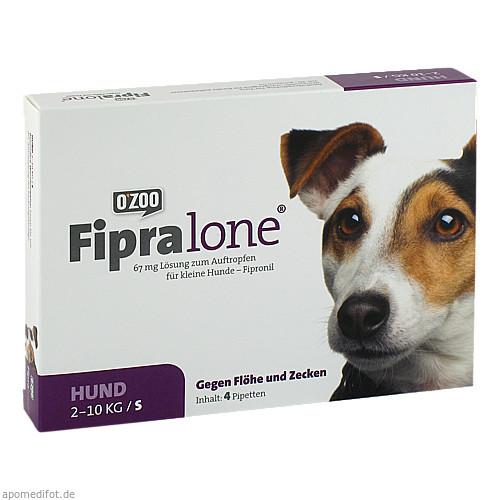 FIPRALONE 67 mg Lsg.z.Auftropf.f.kleine Hunde, 4 ST, O'ZOO GmbH