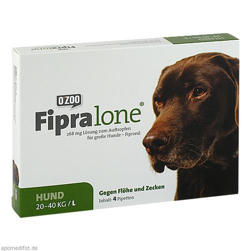 FIPRALONE 268 mg Lsg.z.Auftropf.f.große Hunde, 4 ST, O'ZOO GmbH
