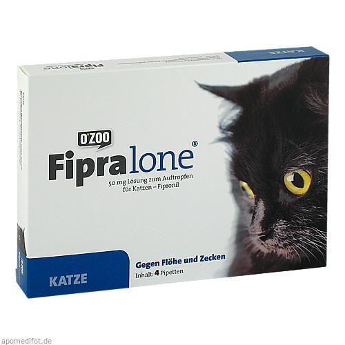 FIPRALONE 50 mg Lsg.z.Auftropf.f.Katzen, 4 ST, O'ZOO GmbH