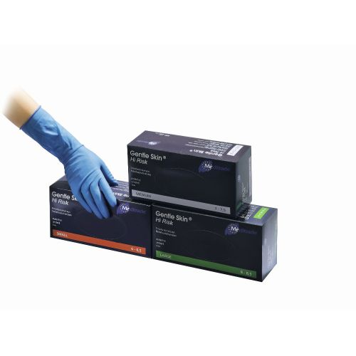 Gentle Skin HiRisk Latex- Einmalhandschuh Gr. M, 50 ST, Meditrade GmbH