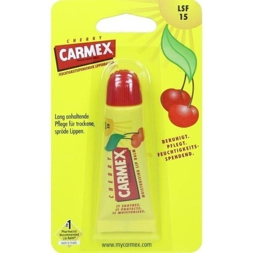 Carmex Lippenbalsam Cherry LSF15, 10 G, Werner Schmidt Pharma GmbH
