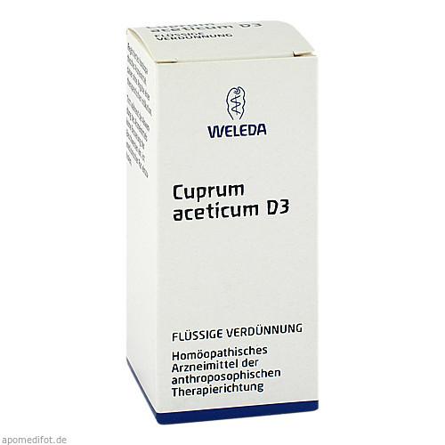 Cuprum aceticum D3, 50 ML, Weleda AG