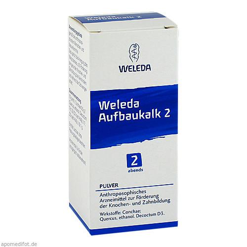 Weleda Aufbaukalk 2, 45 G, Weleda AG