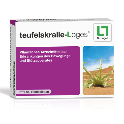 teufelskralle-Loges, 100 ST, Dr. Loges + Co. GmbH