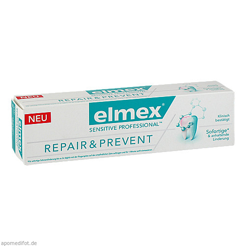 elmex SENSITIVE PROFESSIONAL Repair & Prevent, 75 ML, Cp Gaba GmbH