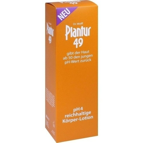 PLANTUR 49 pH4 Körper-Lotion, 200 ML, Dr. Kurt Wolff GmbH & Co. KG