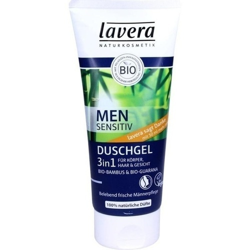 lavera Men Duschgel 3in1, 200 ML, Laverana GmbH & Co. KG