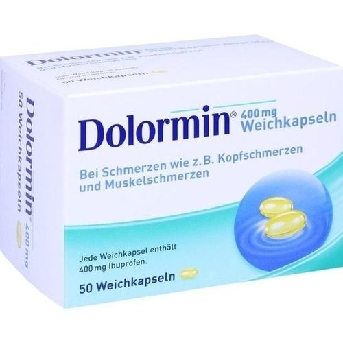 DOLORMIN 400 mg Weichkapseln, 50 ST, Johnson & Johnson GmbH (OTC)
