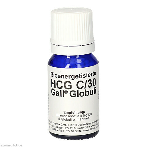 hcg globulis zum abnehmen