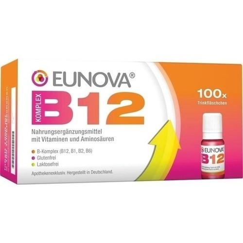 Eunova B12 Komplex LSG, 100X10 ML, STADA GmbH