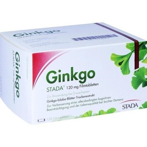 Ginkgo STADA 120MG FTA, 120 ST, STADA GmbH