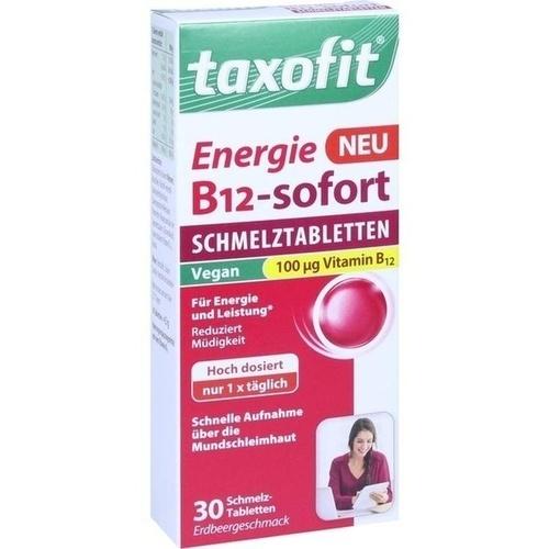 TAXOFIT Energie B12-sofort Schmelztabletten, 30 ST, MCM KLOSTERFRAU Vertr. GmbH
