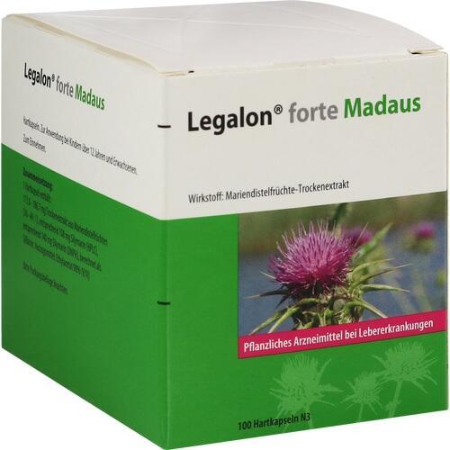 Legalon forte Madaus, 100 ST, MEDA Pharma GmbH & Co.KG
