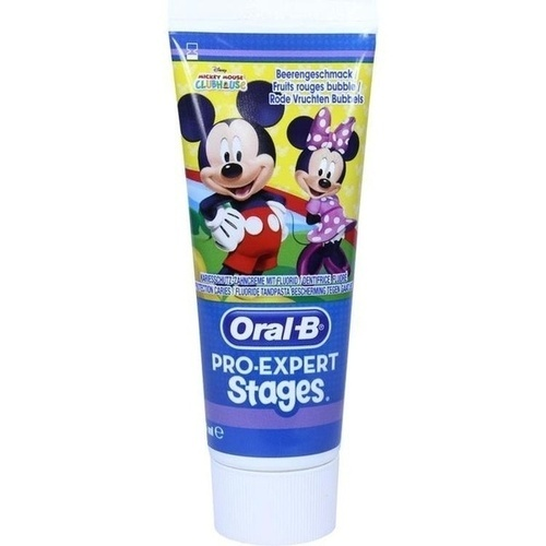 Oral-B Stages Kinderzahncreme Mickey Mouse, 75 ML, Wick Pharma / Procter & Gamble GmbH