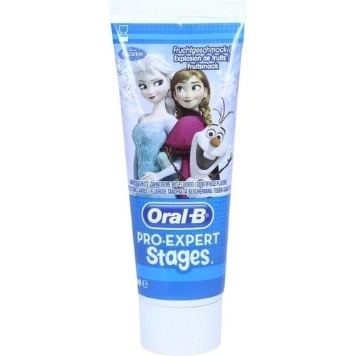 Oral-B Stages Kinderzahncreme Eisprinzessin, 75 ML, Procter & Gamble GmbH