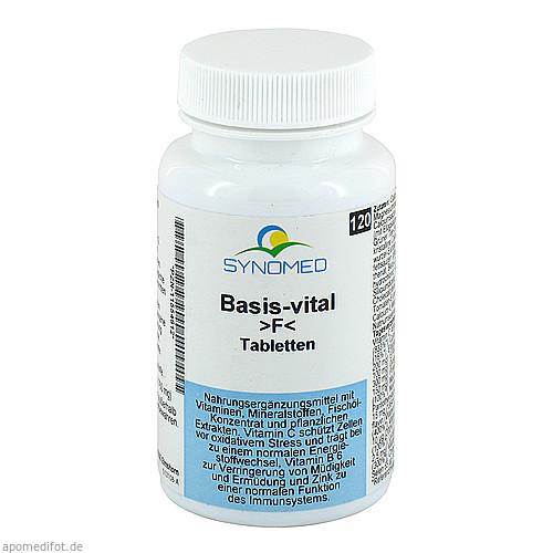 Basis-vital F Tabletten, 120 ST, Synomed GmbH
