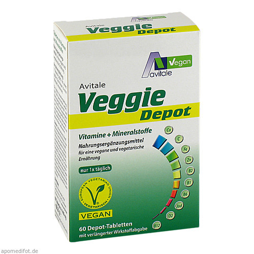 Veggie Depot Vitamine + Mineralstoffe, 60 ST, Avitale GmbH