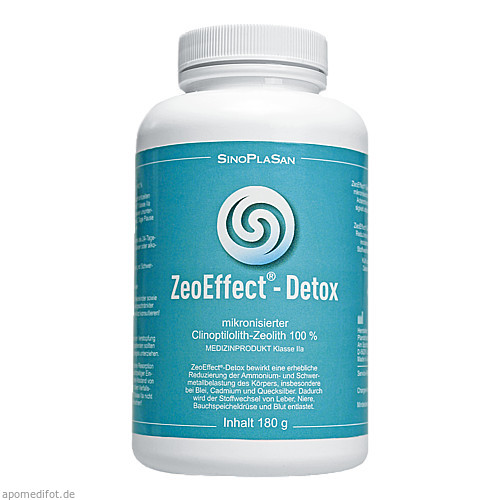 ZeoEffect-Detox Clinoptilolith-Zeolith, 180 G, Sinoplasan AG