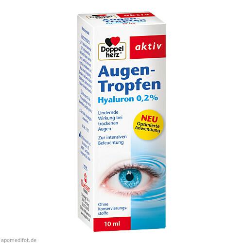Doppelherz Augen-Tropfen Hyaluron 0.2 %, 10 ML, Queisser Pharma GmbH & Co. KG