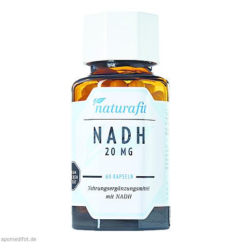 Naturafit NADH 20mg hypoallergen, 60 ST, Naturafit GmbH