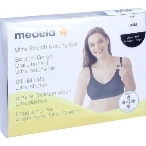Medela Schwangerschafts- und Still BH M schwarz, 1 ST, MEDELA