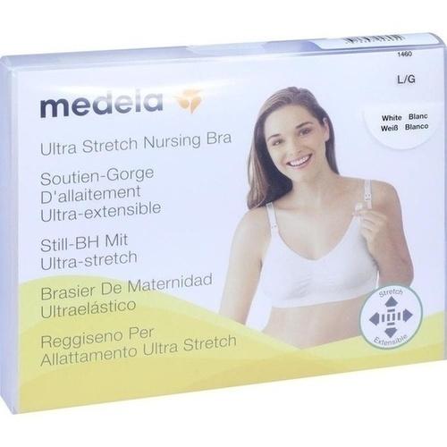 Medela Schwangerschafts- und Still BH L weiß, 1 ST, Medela Medizintechnik GmbH & Co. Handels KG
